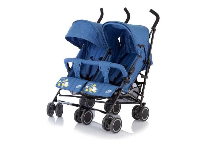 Baby Care Коляска для двойни City Twin