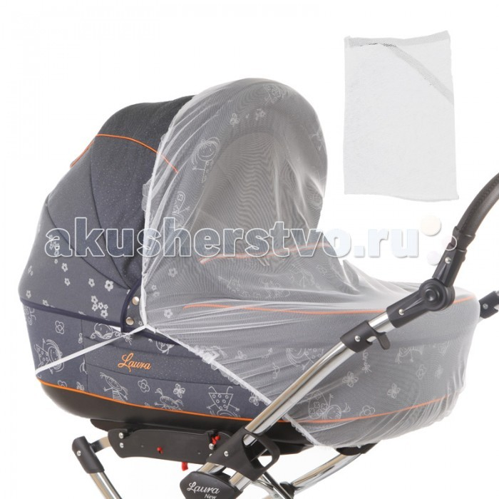 Москитная сетка Baby Care Classic Plus для колясок-люлек