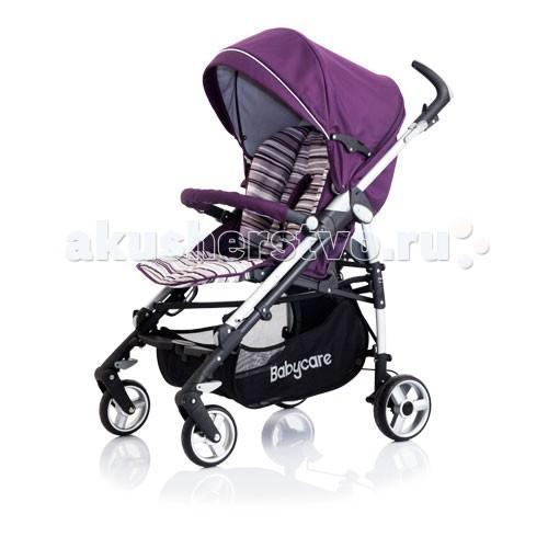 Коляска-трость Baby Care GT 4.0GT 4.0Лёгкая прогулочная коляска-трость   5-точечные ремни безопасности.  Регулируемая спинка в 3 положениях.  Регулируемая подножка в 2 положениях.  Капюшон легко трансформируется в тент с помощью молний.  Эргономичная ручка, регулируемая в 3 положениях.  Легкое, алюминиевое, лакированное шасси.  Компактно складывается тростью.  Вместительная корзина для покупок и игрушек.  Колеса с пружинными подвесками.  Передняя пара «плавающих» с функцией фиксации.  Задние колеса с реечным тормозом.  Съемные тканевые детали.  Рекомендована ручная стирка при температуре 40 градусов.  Замок безопасности, который в сложенном виде предохраняет коляску от случайного раскрытия.   Коляска комплектуется:  Дождевиком  Чехлом на ноги  Бампером   Размеры:  Размер (в&#215;ш&#215;д): 103&#215;51&#215;87 см.  Размер в сложенном состоянии: 31&#215;99 см.  Диаметр колес: пердние/задние: 16/18 см.  Вес 10,1 кг.<br>