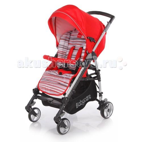 Коляска-трость Baby Care GT 4 PlusGT 4 PlusBaby Care GT 4.0 Plus - прогулочная коляска с возможностью складывания тростью. Широкое посадочное место позволяет ребенку чувствовать себя комфортно даже в объемном зимнем комбинезоне. К тому же спинка механически раскладывается до 170 градусов, что вкупе с регулируемой подножкой дают полноценное спальное место.   Капор раскладывается за счет дополнительных секций, скрытых под молнией, может опускаться до бампера.   Коляска складывается с помощью механизма, позаимствованного у колясок-тростей, что делает данную модель более компактной в хранении.Baby Care GT 4.0 Plus - прогулочная коляска с возможностью складывания тростью.  Главное отличие данной модели от коляски Baby Care GT 4.0 - модернизированная выдвижная ручка, которая положительно влияет на прочность коляски и при этом не препятствует складыванию.   Особенности:   облегченная рама, как у колясок-тростей; спинка регулируется в трех положениях, вплоть до 170 градусов; капюшон легко трансформируется в тент с помощью молний; подножка регулируется в двух положениях, удлиняя спальное место; бампер с мягкой обивкой; все колеса оборудованы пружинными подвесками; передние колеса плавающие с возможностью фиксации; задние колеса с реечным тормозом; 5-точечные ремни безопасности; тканевые детали можно снимать для стирки; вместительная корзина для покупок; коляска компактно складывается тростью. Замок безопасности, который в сложенном виде предохраняет коляску от случайного раскрытия.   Комплектация:   утепленный чехол на ноги; дождевик (винил).   Характеристики:   Диаметр колес: передние – 16 см, задние – 18 см Тип колес: одинарные, плотная резина Механизм складывания: трость Ширина колесной базы: 51 см Вес: 10,1 кг Размеры: в разложенном виде: 103&#215;51&#215;87 см<br>