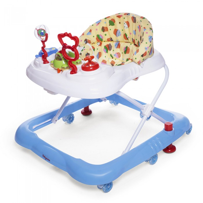 Ходунки Baby Care MarioMarioХодунки Baby Care Mario в современном дизайне, который впишется в любую кухню. Отличный выбор для молодых и динамичных родителей.  Особенности: 8 силиконовых колёс 2 стоппера мягкое сиденье  музыкально-игровая панель 3 положения по высотt полностью съемная обивка (для удобства стирки) рекомендовано для детей от 6 месяцев до 11.5 кг  Вес ходунка: 3.5 кг Размер ходунка в разложенном состоянии: 64х58х55 см Размер ходунка в сложенном состоянии: 64х58х18 см<br>