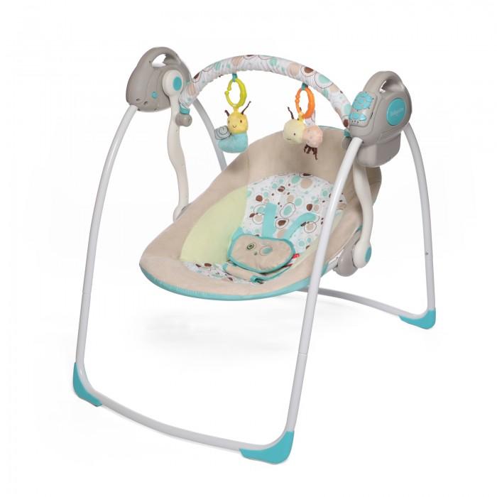 Электронные качели Baby Care RivaRivaКачели электронные Baby Care Riva с адаптером.  Особенности: 2 положения спинки 5-точеные ремни безопасности 6 скоростей укачивания 10 мелодий, 3 уровня громкости Дуга с игрушками Обивку сидения можно стирать в холодной воде Качели легко и компактно складываются Сетевой адаптер в комплекте Размеры в разложенном виде - 82х63х72 см Размеры в сложенном виде - 79х63х24 см Расстояние от пола до сидения - 25 см Размеры сидения - 66х41 см Вес - 4,5 кг Рекомендовано для детей c рождения до 6 месяцев (весом до 11 кг)<br>
