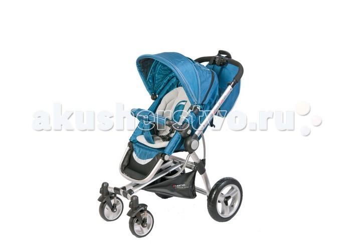 Прогулочная коляска Baby Care Suprim SoloSuprim SoloПрогулочная коляска Baby Care Suprim Solo - оригинальная модель привлекательного дизайна с использованием плотных качественных тканей для комфортных всесезонных прогулок мамы с малышом до возраста 3 лет.  Для удобства родителей коляска Baby Care Suprim Solo (Бэби Кар Суприм Соло) достаточно многофункциональна, мобильна и рационально оборудована, что отвечает основным требованиям современных мам.  Особенности коляски Baby Care Suprim Solo:  ультралёгкая рама из алюминиевого профиля  эргономичная ручка корректируется под рост родителей по высоте  объёмный капюшон с удобным смотровым окном сверху на клапане и солнцезащитным козырьком с защитой от УФ-лучей  прогулочный модуль Suprim Solo устанавливается по углу наклона в 3 положениях  возможен поворот всего модуля на 180 градусов относительно оси - из направления лицом к маме в противоположную сторону  угол наклона подножки легко меняется под потребности малыша  мягкий тканевый ограничитель для ребенка на съёмном бампере-поручне  ремни безопасной поддержки с мягкими наплечниками  дополнительный теплый матрасик-вкладыш для прохладного времени года  разное расстояние между колесами на передней и задней оси  лёгкий механизм складывания по типу книжки через кнопку в поручне  удобный механизм тормоза на задней оси  Благодаря мягким амортизаторам, передним (17 см) плавающим колесам с блокировочным механизмом и большим (30 см) задним надувным колесам с подшипниками - достигнуты отменные маневренность и плавность хода коляски Baby Care Suprim Solo по любому дорожному покрытию, что с удовольствием отметит и оценит каждая мама.  Расстояние от пола до сидения коляски 50 см.  Комплектация коляски Baby Care Suprim Solo:  вкладыш-матрасик теплый  дождевик  накидка-чехол на ножки  стильный рюкзак для мамы  Рама коляски Baby Care Suprim Solo идеально подходит для установки на неё (через адаптер) совместимого автокресла Baby Care Zero+, продающегося отдельно, а также и для люльки совме