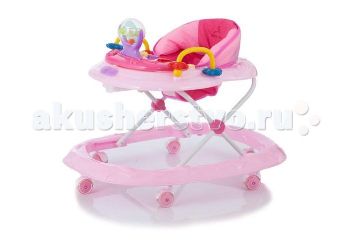 Ходунки Baby Care WalkerWalkerBaby Care Walker — легкие устойчивые ходунки на широком основании, предназначены для детей от 6 до 12 месяцев. Особенностью модели является наличие красочной игровой панели с музыкальным сопровождением, которую можно снять с ходунков и использовать как отдельную игрушку.   Ходунки компактно складываются гармошкой и занимают минимум пространства при хранении. Родители по достоинству оценят наличие силиконовых поворотных колес, которые не повреждают поверхность полового покрытия во время детских игр.   Характеристики: ходунки регулируются по высоте в 3 положениях очень легкая рама широкое основание для максимальной устойчивости силиконовые поворотные колеса облегчают перемещение и не повреждают напольные покрытия второй замок - фиксатор от произвольного складывания для дополнительной безопасности игровой центр легко снимается, после чего можно пользоваться лотком как столиком съемный музыкально - игровой центр можно использовать как отдельную игрушку мягкое сидение из моющегося материала ходунки компактно складываются гармошкой<br>