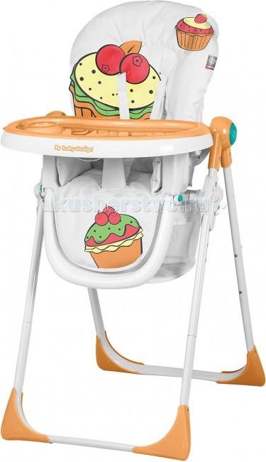 Стульчик для кормления Baby Design CookieCookieСтульчик для кормления Baby Design Cookie - стиль, дизайн, продуманность и надежность. Отлично подойдет для вашего малыша и обеспечит комфорт во время кормления.  Прием пищи может быть таким же веселым, как и время для игр! Каждый маленький едок будет счастлив сидя в стульчике Cookie!  Детский стул имеет регулировку высоты сиденья в 6-ти положениях Независимую регулировку спинки в 3-х позициях 3 положения регулировки столика (ближе/дальше от ребенка), 2 позиции регулировки подножки 2 столика с подстаканником. Они легко снимаются и удобны в уходе Стульчик удобно и легко складывается при помощи двух кнопок. Компактен в сложенном виде Имеет пятиточечные ремни безопасности, а также защиту (ограничитель) от выпадения ребенка Есть вместительная сетка для мелочей Снимаемый и легкоочищаемый чехол Экономит место благодаря возможности хранения стульчика в вертикальном положении, без необходимости снятия столика. Столик остается подвешенным на конструкции.<br>
