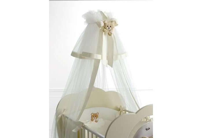 Балдахин для кроватки Baby Expert Abbracci by TrudiAbbracci by TrudiТюлевый балдахин для кроваток Baby Expert коллекции Abbracci by Trudi изготовлен из нейлона с хлопковыми элементами. Стойка для крепления балдахина на кроватке поставляется в комплекте.<br>