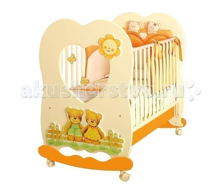 Детская кроватка Baby Expert Cuore