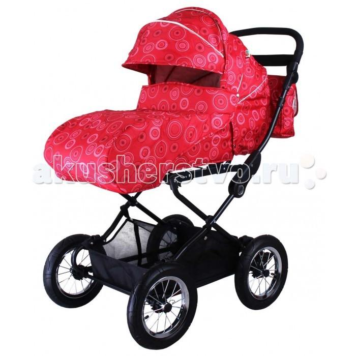 Коляска-трансформер BabyHit Evenly LightEvenly LightУниверсальная коляска BabyHit станет отличным вариантом первого транспортного средства для вашего ребенка. Опущенная в горизонтальное положение спинка коляски вместе с поднятой подножкой формируют спальное место для новорожденного ребенка, а имеющейся в комплекте полог для новорожденного закроет малыша от непогоды. Также в комплекте большой полог, предназначенный для ребенка в возрасте от 7-ми месяцев, уже способного перемещаться в коляске сидя.  Коляска отличается просторным прогулочным блоком, большим капюшоном-батискафом и мягкой амортизационной системой с большими надувными колесами, которая обеспечивает отличную проходимость и плавность хода.   Характеристика: Капюшон «батискаф» Регулируемый наклон спинки до положения «лежа» Регулируемая по высоте ручка Установка прогулочного блока в любом направлении движения Съемный поручень прогулочного сиденья с паховым ремнем Колеса надувные, диаметр 30 см Система амортизации на всех колесах Багажная корзина  В комплекте: Дождевик Москитная сетка Два полога Сумка для мамы  Вес коляски с прогулочным блоком - 16.5 кг Вес прогулочного блока - 5.5 кг Вес рамы - 11 кг<br>