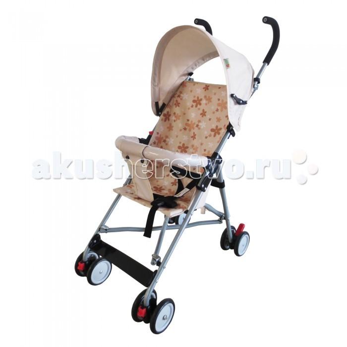 Коляска-трость BabyHit JoyJoyЛегкая коляска трость Joy Baby Hit с тентом от солнца и съемным бампером.  Данная модель отлично подойдет как для путешествия, так и для повседневной эксплуатации. Коляска отличается демократичной стоимостью, небольшим весом и компактными размерами.   Коляска комплектуется жестким съемным поручнем, паховым ремнем и системой ремней безопасности. Передние колеса – поворотные с возможностью фиксации, на задних установлены тормозные педали.  Особенности: Размер в разложенном виде: 89 х 76 х 41 см. Диаметр колес – 11.5 см. Очень легкая и простая тросточка Вес - 3.6 кг Съемный поручень Съемный тент Передние колеса поворотные на 360° Паховый ремень Ремни безопасности Фиксация передних колес в положении прямо Тип колес - псевдорезина<br>