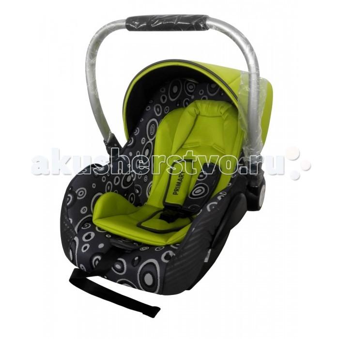 Автокресло BabyHit PrimaryPrimaryПредназначено для детей от рождения до 1 года (максимальный вес ребенка не должен превышать 13 кг). Установка автокресла в машине осуществляется только против хода движения автомобиля! Фиксация автокресла осуществляется штатными ремнями безопасности.  Для безопасных путешествий крохи надежно фиксируйте его в автокресле ремнями безопасности, а для самых маленьких пассажиров используйте мягкий вкладыш.   Группа 0+ От рождения до 13 кг. Система ремней безопасности Мягкий вкладыш Ручка для переноски Соответствует Евростандарту безопасности ECE44/04  Возможность установки на некоторые модели колясок Babyhit (Drive, Drive 2, Smart) (переходники в комплекте).  Вес: 2.7 кг.<br>
