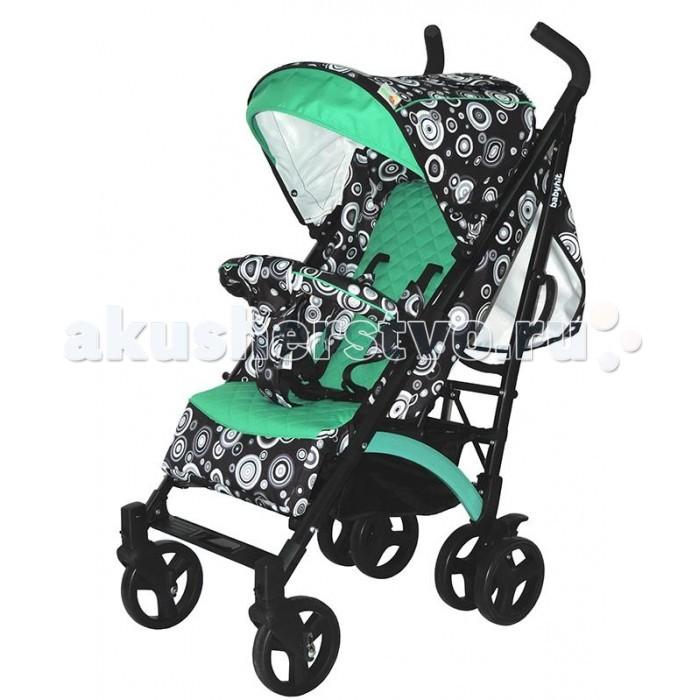 Коляска-трость Baby Hit RainbowRainbowКоляска-трость Rainbow - качественная модель, достойный конкурент именитых брендов. Качественная рама и литые колеса, достаточно большие для коляски-трости. Передние колеса поворотные с возможностью фиксации. Складывается коляска легко, одним движением и выглядит очень компактной.   В комплекте с чехлом на ножки коляска является отличным транспортным средством в межсезонье. Материалы обивки прочные, легко чистятся и не выгорают на солнце. Капюшон глубокий, опускается до бампера.  Особенности коляски-трости: Прогулочная коляска-трость предназначена для детей от 6-ти месяцев до 3-х лет. Спинка сиденья регулируется для комфортного отдыха ребенка. 5-ти точечные ремни безопасности надежно удержат малыша на месте. Бампер предназначен для дополнительной безопасности, снимается при необходимости. Подножка регулируемая. Капюшон-батискаф опускается вплоть до бампера. Чехол для ножек, москитная сетка и дождевик входят в комплект. 6 колес: передние одинарные, задние сдвоенные. Передние поворотные колеса с возможностью фиксации в положении прямо. Все колеса амортизированы. В сложенном виде коляску легко переносить с помощью удобной ручки. Коляска автоматически блокируется при складывании. Корзинка для покупок расположена в нижней части коляски. Размеры коляски в разложенном виде: 85/43/108 см. Ширина сиденья: 35 см. Высота спинки: 47 см. Глубина сиденья: 25 см. Длина подножки: 13 см. Размер спального места при поднятой подножке - 85 х 35 см.  Диаметр колес: 18 см. Вес коляски - 7,4 кг.  В комплекте: Чехол для ножек Дождевик Москитная сетка Корзинка для покупок Сумка (нет в комплекте у колясок в расцветках: бежевый, голубой, малиновый).<br>