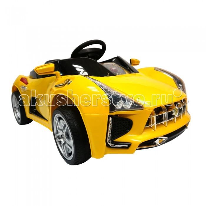 Электромобиль BabyHit Sport CarSport CarЭлектромобиль BabyHit Sport Car оснащен световыми и звуковыми эффектами, что придется ребенку по душе. Автомобиль устойчивый, безопасный и прост в управлении, поэтому ребенок от трех лет легко с ним справится и получит массу удовольствия от поездки.  Особенности электромобиля Babyhit Sport Car: Для детей в возрасте от 3-х до 8 лет Полиуретановые мягкие не накачиваемые шинки колес (не пластиковые) Два редуктора/электродвигателя мощностью 25 Вт каждый Два аккумулятора 6В/7Ач Максимальная скорость 5 км/ч Звуковые и световые эффекты, МP3 Пульт дистанционного управления (Bluetooth) Открывающиеся двери Вес: 16 кг Максимальная нагрузка - 35 кг.  Размер электромобиля: 116 х 62 х 50 см.<br>