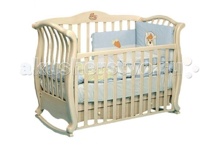 Детская кроватка Baby Italia Andrea VIP (качалка)