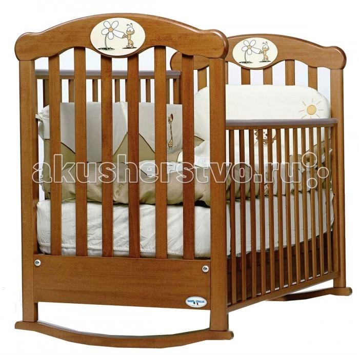 Детская кроватка Baby Italia Amica (качалка)