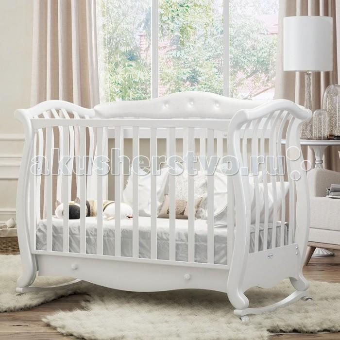 Детская кроватка Baby Italia Andrea VIP Pelle (качалка)