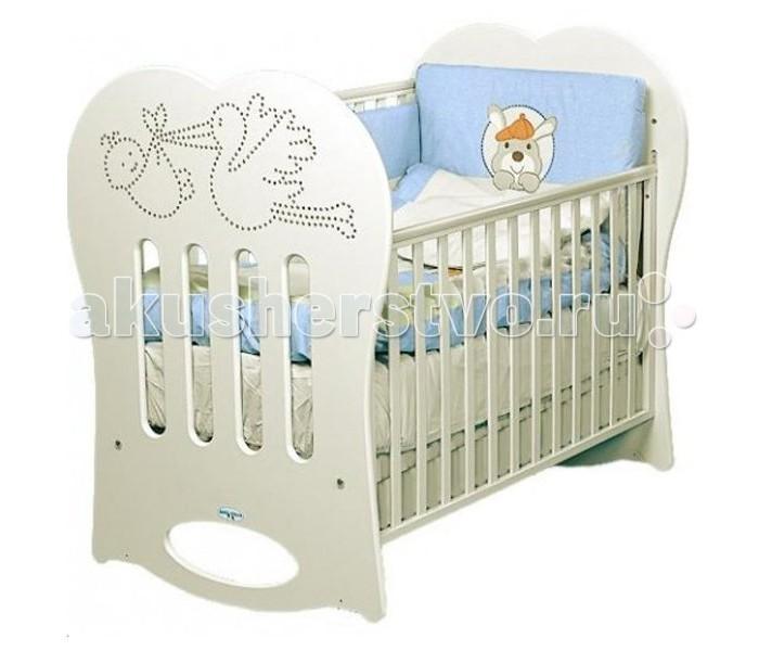 Детская кроватка Baby Italia Crystal (качалка)