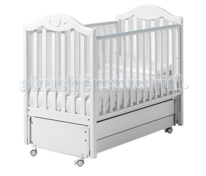 Детская кроватка Baby Italia Didi маятник cо стразами