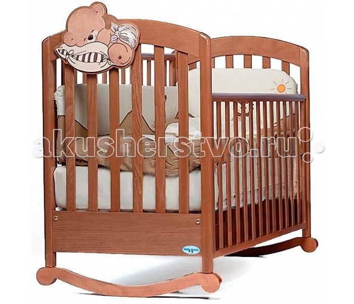 Детская кроватка Baby Italia Leo (качалка)