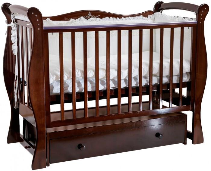 Детская кроватка Baby Luce Лучик (поперечный маятник)