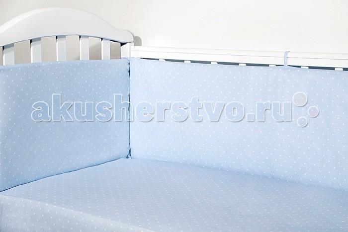 Бампер для кроватки Baby Nice (ОТК) Горох от Акушерство