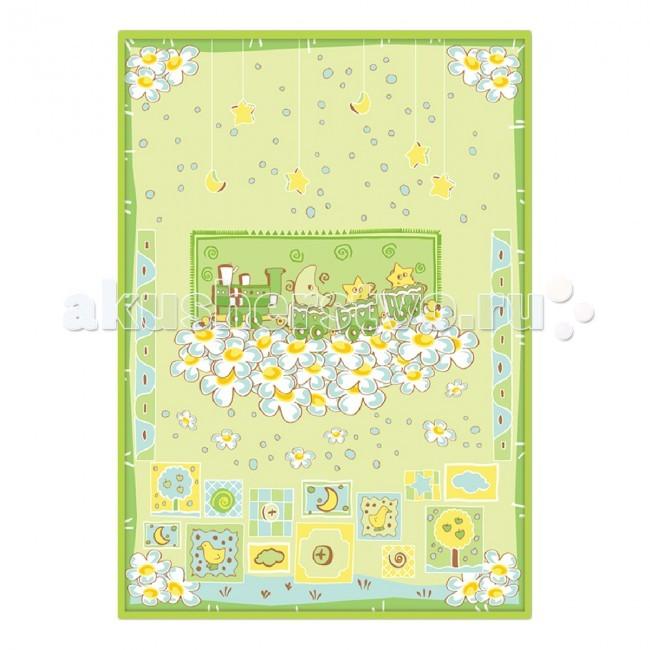 Одеяло Baby Nice (ОТК) байковое Паровозик 85х115 см