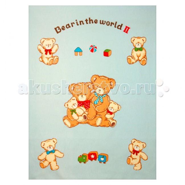 Одеяло Baby Nice (ОТК) байковое Семейство медвежат 100х140 смбайковое Семейство медвежат 100х140 смРебенок, спящий под байковым одеялом, словно укрытый нежным мягким облаком, находится в тепле, и не потеет при этом.   Дышащая способность натурального хлопка позволяет добиться такого эффекта.   Лёгкий по ощущениям (материал имеет небольшой вес), но, вместе с тем, плотный материал, сохраняет тепло. Кроме того, ткань гигроскопична, а значит, впитывает избыточную влагу, не становясь при этом влажной на ощупь.  Материал: 100% хлопок, оверлок Плотность: 390 гр/м2 Размер: 100х140 см Упаковка: полиэтиленовый пакет<br>