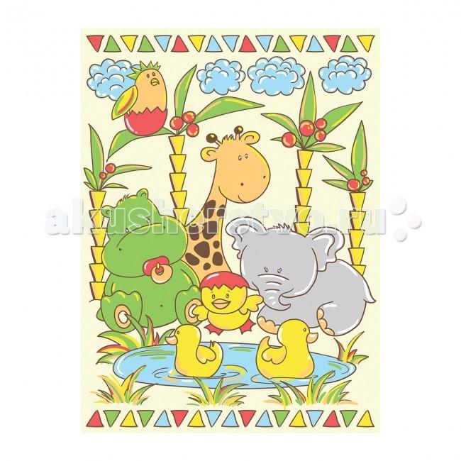 Одеяло Baby Nice (ОТК) байковое У озера 85х115 смбайковое У озера 85х115 смРебенок, спящий под байковым одеялом, словно укрытый нежным мягким облаком, находится в тепле, и не потеет при этом.   Дышащая способность натурального хлопка позволяет добиться такого эффекта.   Лёгкий по ощущениям (материал имеет небольшой вес), но, вместе с тем, плотный материал, сохраняет тепло. Кроме того, ткань гигроскопична, а значит, впитывает избыточную влагу, не становясь при этом влажной на ощупь.  Материал: 100% хлопок, оверлок Плотность: 390 гр/м2 Размер: 85х115 см Упаковка: полиэтиленовый пакет<br>
