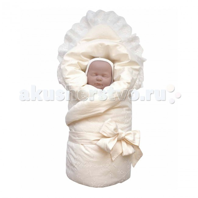 Baby Nice (ОТК) Конверт-одеяло на выпискуКонверт-одеяло на выпискуКомплект на выписку: одеяло-конверт — ткань верха и подкладки: сатин, 100% хлопок с кружевом, наполнитель: инновационный материал файберпласт (200 гр) — качественный, легкий и неприхотливый в эксплуатации нетканый материал, который великолепно удерживает тепло, дышит, является гипоаллергенным, прекрасно стирается, практически не слеживается, быстро сохнет и не впитывает неприятные запахи.   Экологичность, высокий уровень комфорта, красота и праздничное настроение — отличительные черты этого комплекта.   Конверт украшен классическими атрибутами одежды для младенцев на выписку: сверху — легким изысканным кружевом, посередине — атласными лентами.   Одеяло-конверт на выписку представлен в нескольких цветовых решениях, подходящих как для девочек, так и для мальчиков.<br>