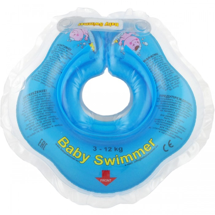 Круг для купания Baby Swimmer 0-24 мес.