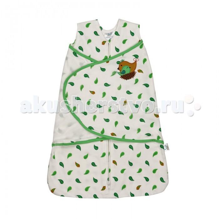 Спальный конверт BabyDays на молнии и липучке Sleeping Bird