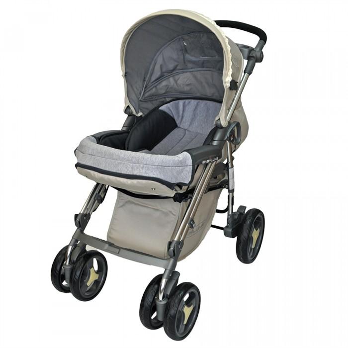 Прогулочная коляска Babylux 207B207BМногофункциональная прогулочная коляска 207B для детей до 3х лет очень маневренная, надежная и комфортная. Она сделана из качественных и продуманных материалов.   Характеристики: Стильный дизайн и красивая, модная расцветка Компактный и простой механизм складывания - книжка Сплошная ручка с лотком для напитков Колеса небольшие. На каждом есть амортизация Передние колеса поворачиваются на 360 градусов, а на задних есть тормоза Металлическая рама очень прочная Под сиденьем есть вместительная корзина Удобная подставка для ног. Ее можно мыть Подножка регулируется и устанавливается в двух положениях Четыре положения спинки коляски, включая горизонтальное, позволит придать удобное положение малышу Капюшон очень большой. Хорошо закрывает от солнца Держатель для бутылочки. Чехол на ножки Ребенка можно пристегнуть пятиточечными ремнями безопасности с мягкими накладками Съемный, гибкий бампер. Не мешает при сложении  Вес: 12.5 кг<br>