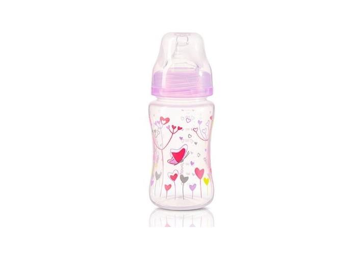Бутылочка BabyOno Антиколиковая c широким горлышком 240 мл