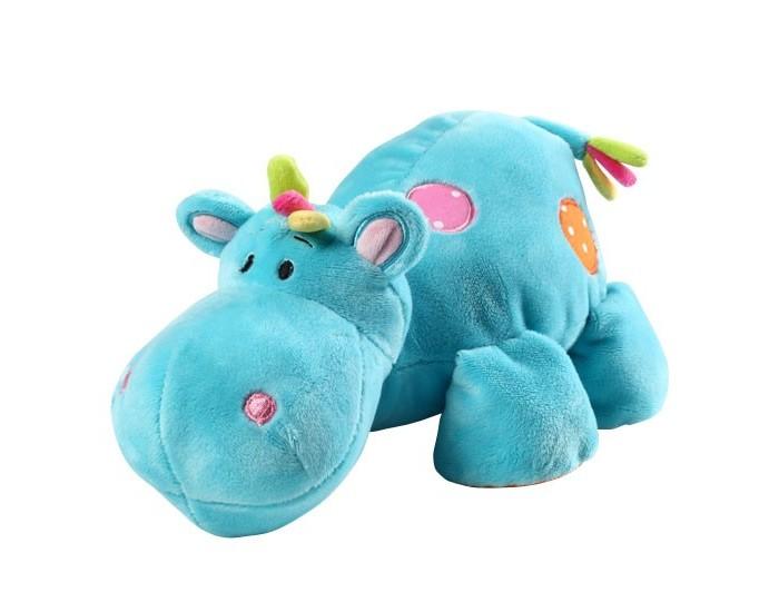 Мягкая игрушка BabyOno ГиппопотамГиппопотамГиппопотам - это первый друг и товарищ вашему малышу. С ней весело играть даже самым маленьким деткам. Малыши постарше с удовольствием возьмут игрушку с собой в кроватку, т.к. она выполнена из мягкого, уютного материала. С Гиппопотамом можно поиграть в первые сюжетно-ролевые игры, пусть даже игра будет совсем незатейливой.  Характеристики: ребенок учится координировать свои действия у крохи развивается мелкая моторика и тактильное восприятие у малыша активно развивается зрение формирует эмоциональное и социальное развитие напоминающие животных формы игрушек вызывают интерес и привлекают внимание ребёнка способствует играм и обучению даёт ощущение безопасности внутри игрушки находится погремушка<br>