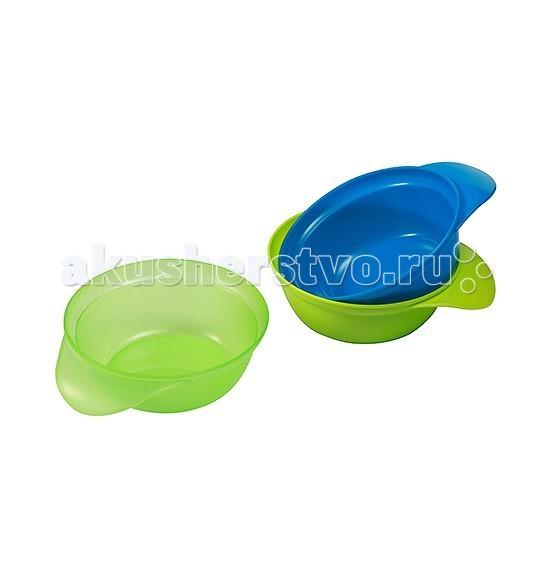 BabyOno Набор тарелочек 3 шт.Набор тарелочек 3 шт.Набор тарелочек (3 шт) от BabyOno - идеально подходит для кормления ребенка от 6 месяцев. Эргономичная, удобная ручка помогает удобно держать тарелочку во время кормления. Набор состоит из 3 тарелок, их можно складывать одну в другую, благодаря чему занимают мало места.  Особенности набора посуды: посуда выполнена из качественного безопасного материала, который не содержит вредных примесей, выделяющихся в еду яркий и привлекательный дизайн посуда легкая, не бьется идеальная для освоения навыков самостоятельного приёма пищи  В комплекте: 3 тарелочки (цвета в ассортименте)<br>