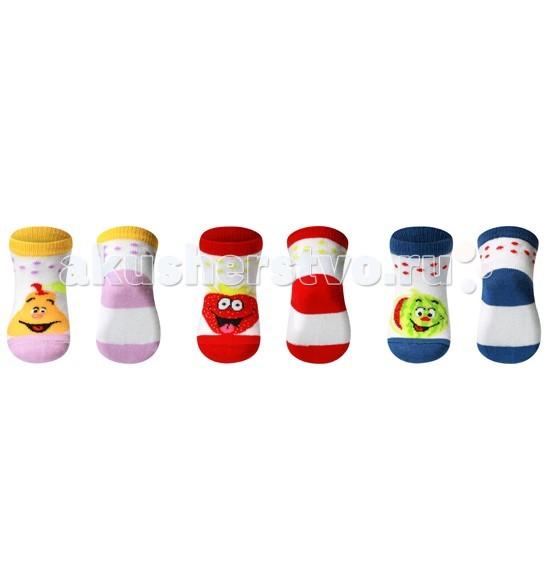 BabyOno Носки Frutty из хлопка 0+ 1 пара