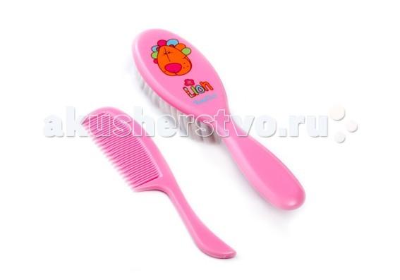 BabyOno Щетка и расческа для волос мягкаяЩетка и расческа для волос мягкаяЩётка супермягкая и расческа для волос для детей с 0 мес. BabyOno  Комфорт и удобство: очень мягкий и тонкий (0,1 мм) волос  щётка превосходно подходит для ухода за тонкими и нежными волосами ребёнка антистатическая - не электризует волосы идеальная для массажа кожи головы противоскользящая ручка закруглённые зубцы гребня защищают нежную кожу ребёнка<br>