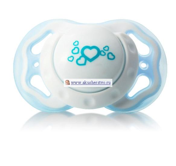 Пустышка BabyOno силиконовая анатомическая 6-18 мсиликоновая анатомическая 6-18 мПустышка силиконовая анатомическая 6-18 мес BabyOno  Безопасная и прочная: анатомический наконечник ортодонтическая форма, соответствующая анатомическому строению ротовой полости ребёнка отверстия в основании предотвращают раздражения на лице ребёнка выемка для носа и профилированное основание для максимального комфорта и удобства изготовлена из прочных и безопасных материалов, не содержащих бисфенола А<br>