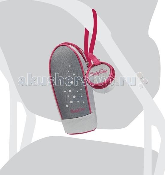 BabyOno Tермоупаковка Stily 602Tермоупаковка Stily 602Термоупаковка Stily (мягкая) BabyOno 602 с контейнером для пустышки, это идеальный комплект для прогулок, поездок и повседневного использования, для мамы и малыша. Цвет и дизайн-позволяет приспособить их к коляске.   Внутренний материал, в зависимости от необходимости, позволяет сохранить теплой или холодной температуры жидкости/пищи, через значительное замедление процесса остывания/нагрева.   Упаковка на соску, помогает сохранить соску в чистоте.  Замок-молния обеспечивает быстрый и легкий доступ внутрь.   Подходит для всех типов бутылочек.  Обе сумочки оснащены удобной ручкой с застежкой на липучке, которая позволит вам прикрепить к коляске или сумке.  Особенности: - выполнена из высококачественных материалов; - снабжена удобной ручкой для переноски, с помощью которой можно пристегнуть к коляске, кроватке и т.д.(ручка на липучке); - подходит для всех бутылочек вне зависимости от формы; - дополнительная упаковка для пустышки помогает сохранить её в чистоте.<br>