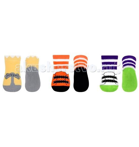 BabyOno Terry носочки противоскользящие 0m+ 1 параTerry носочки противоскользящие 0m+ 1 параTerry носочки противоскользящие 0m+  Теплые и мягенькие носочки, согреют нежнейшие маленькие ножки. Подарят им тепло и комфорт. Изготовленные из нетоксичных и высококачественных материалов. Благодаря своей мягкой и нежной текстуре они очень приятные на ощупь и подходят для чувствительной кожи младенцев.   Состав материала носочков – хлопковая ткань.   На подошвах носков имеются противоскользящие тормозки, предотвращающие скольжению.  Внимание! Цвета в ассортименте. Цена указана за одну пару.<br>
