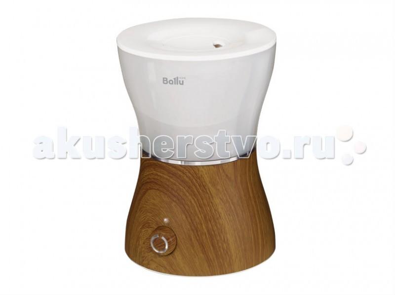 Ballu Ультразвуковой увлажнитель воздуха UHB-400Ультразвуковой увлажнитель воздуха UHB-400Ультразвуковой увлажнитель воздуха Ballu UHB-400 обеспечивает мягкое увлажнение и способствует созданию благоприятного микроклимата в доме. Плавные формы, удобное и интуитивно понятное управление. Корпус увлажнителя выполнен в 2-х расцветках -под текстуру дерева-Венге и Дуб.  Прибор прост и удобен в эксплуатации - для увлажнения можно заливать водопроводную воду. Благодаря входящему в комплект фильтру - картриджу вода очищается от излишков солей жесткости. Арома капсула позволит насытить воздух в помещении любимым ароматом. Мягкая подсветка бака позволяет использовать увлажнитель в качестве ночника.  Ballu UHB-400 имеет поворотный распылитель, который может вращаться вокруг своей оси, то есть вы можете сами выбрать направление распыления. Переключая скорость вентилятора, можно регулировать мощность увлажнения.   Увлажнитель глянцевого белого цвета с деревом не просто практичен, но и красив, а благодаря встроенной подсветке может использоваться в качестве ночника. Индикатор уровня воды подскажет, когда нужно наполнить прибор.  Отличительные особенности Высокая производительность по увлажнению-до 300 г/час Подсветка бака-в ночное время выступает как ночной светильник Распылитель 360° Фильтр-картридж в комплекте Индикация низкого уровня воды Оригинальный дизайн<br>