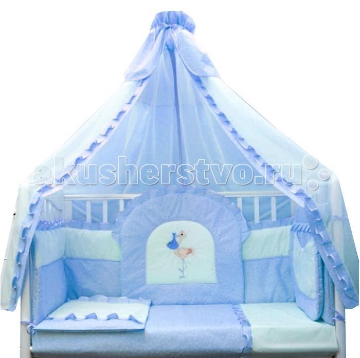Комплект для кроватки Балу Аистенок (8 предметов)