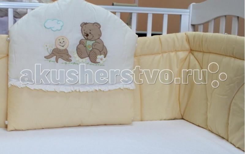 Бампер для кроватки Балу Бабушкины сказки