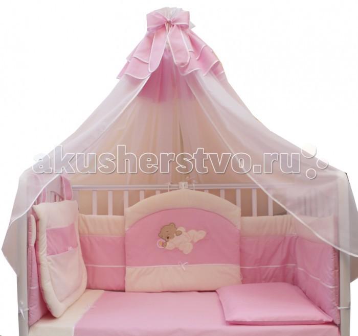 Комплект для кроватки Балу Мишутка (8 предметов)
