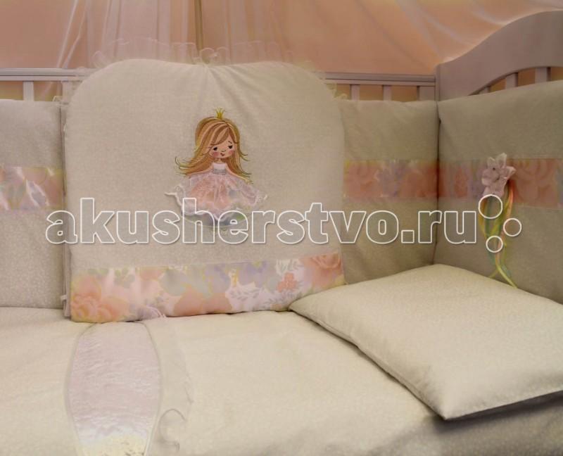 Комплект для кроватки Балу Я принцесса (7 предметов)