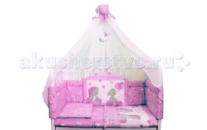 Комплект для кроватки Балу Загадка (7 предметов)