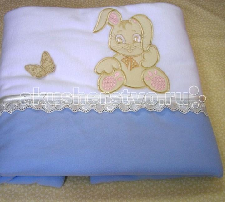 Одеяло Балу Зайка 100х100 смЗайка 100х100 смПри производстве используются исключительно натуральные красители, поэтому детское постельное белье безопасно и гипоаллергенно.  Легкое, теплое и нежное одеяло согреет вашего малыша в прохладные ночи.   Под таким чудесным одеяльцем ему будут сниться только сладкие, прекрасные сны.  Ткань: хлопок, флис  Наполнитель: 200 гр. синтепона<br>