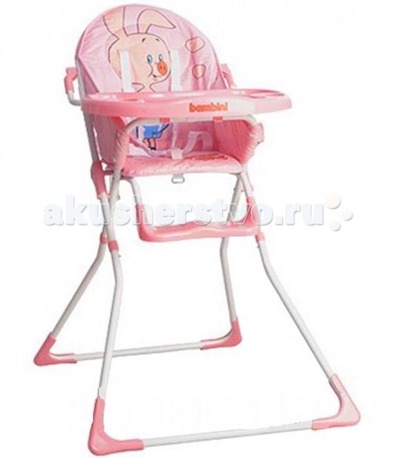 Стульчик для кормления Bambini RoxyRoxyСтул для кормления Bambini Roxy приумножит радость общения с ребенком, которая и так ни с чем не сравнима. Модель отличается простым и надежным дизайном. Отвечает европейским требованиям безопасности. Используется для кормления, игры и отдыха. Предназначен для детей с 6 мес. до 3-х лет   Заботясь о малыше, как правило маме, приходится уйму сил тратить на ведение домашнего хозяйства. С первых месяцев жизни малыша незаменимым помощником мамы станет стульчик для кормления, который придется как нельзя кстати на первых шагах к самостоятельному приему пищи и для самостоятельных игр.  Особенности:  съемный моющийся чехол сиденья легко, удобно и компактно складывается имеет закругленные формы для безопасности малыша яркая расцветка дизайн Союзмультфильма пятиточечные ремни безопасности<br>