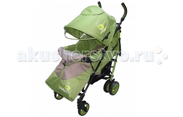 Коляска-трость Bambini ShuttleShuttleКоляска Bambini Shuttle с чехлом - это очень практичная, легкая, устойчивая модель прогулочной коляски. В комплекте с коляской идет чехол для ножек, поэтому с ребенком можно будет прогуляться и в холодную погоду.  Коляска Bambini Shuttle очень просторная, и если малыш во время прогулки захочет уснуть, маме достаточно будет опустить спинку коляски и поднять подножку, создав таким образом уютное спальное место своему ребенку. Понаблюдать за малышом можно будет в специальное окошко, которое находится на капюшоне коляски.  Особенности: складывается способом трость регулируемый защитный козырек с кармашком и окошком два пятиточечных ремня безопасности съемный прочный бампер спинка регулируется (вплоть до лежачего положения) большая корзинка для покупок и вещей чехол для ножек малыша удобная ручка для переноски коляски стальной каркас эргономичные, не скользящие, ручки регулируемая подножка  Колеса: передние одинарные, поворачиваются на 360 градусов, есть фиксаторы (15 см) задние сдвоенные, с фиксирующей педалью (18 см)  Размеры: 70 х 50 х 107 см. Вес 9.5 кг.  Внимание!Анатомическая подушка в комплект не входит!<br>