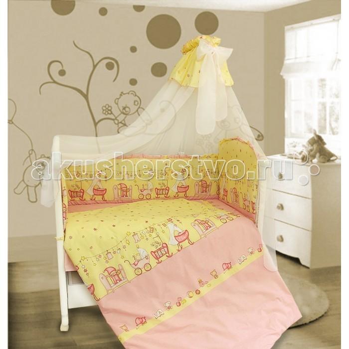 Комплект для кроватки Bombus Забавки (7 предметов)