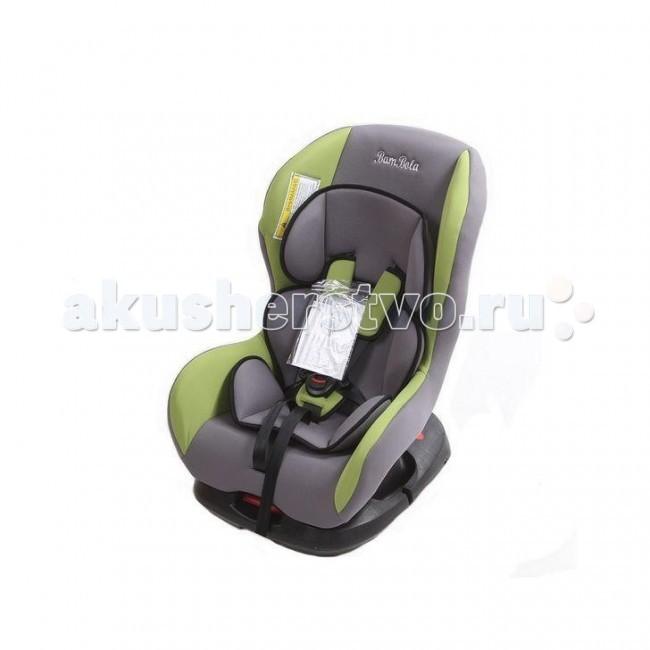 Автокресло BamBola BambinoBambinoДетское автомобильное кресло Bambolo Bambino предназначено для детей от рождения до 4 лет весом до 18 кг. Автокресло имеет ярко выраженную боковую защиту и надежную систему крепления внутренних пятиточечных ремней, что обеспечивает безопасность ребенка при резких поворотах и боковых ударах. Внутренние пятиточечные ремни регулируюся по высоте в зависимости от роста ребенка. Благодаря ортопедической форме спинки и регулировки наклона автокресла, мягкому вкладышу и накладкам внутренних ремней безопасности ребенку удобно и комфортно в поездке.  Преимущества модели в области удобства: мягкий вкладыш и накладки внутренних ремней обеспечивают максимальный комфорт ребенка укрепленная анатомическая спинка для удобства ребенка регулировка внутренних ремней по высоте в зависимости от роста ребенка двухпозиционная регулировка центральной лямки позволяет адаптировать внутренние ремни под зимнюю и летнюю одежду ребенка база для регулировки угла наклона кресла износостойкий чехол легко снимается для стирки  Преимущества модели в области безопасности: ярко выраженная боковая защита обеспечивает безопасность при резких поворотах и боковых ударах прочный каркас авоткресла изготовлен методом литья под давлением надежная система внутренних пятиточечных ремней с использованием специально разработанных ременных лент российского производства замок ремней с мягким клапаном и защитой от неправильного использования металлические направляющие предотвращают смещение кресла с базы при столкновении нетоксичный гипоаллергенный материал безопасен для ребенка соответствует правилам ЕЭК ООН № 44-04  Габариты кресла: 45х62х62 см Вес: 5.8 кг<br>